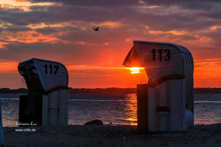 SinS – Sonnenuntergang in Surendorf am Strand