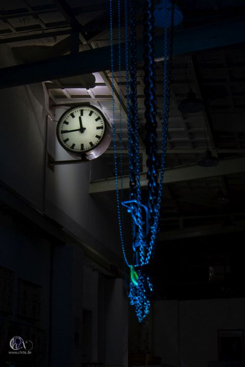 Lightpainting Workshop im Maschinenmuseum