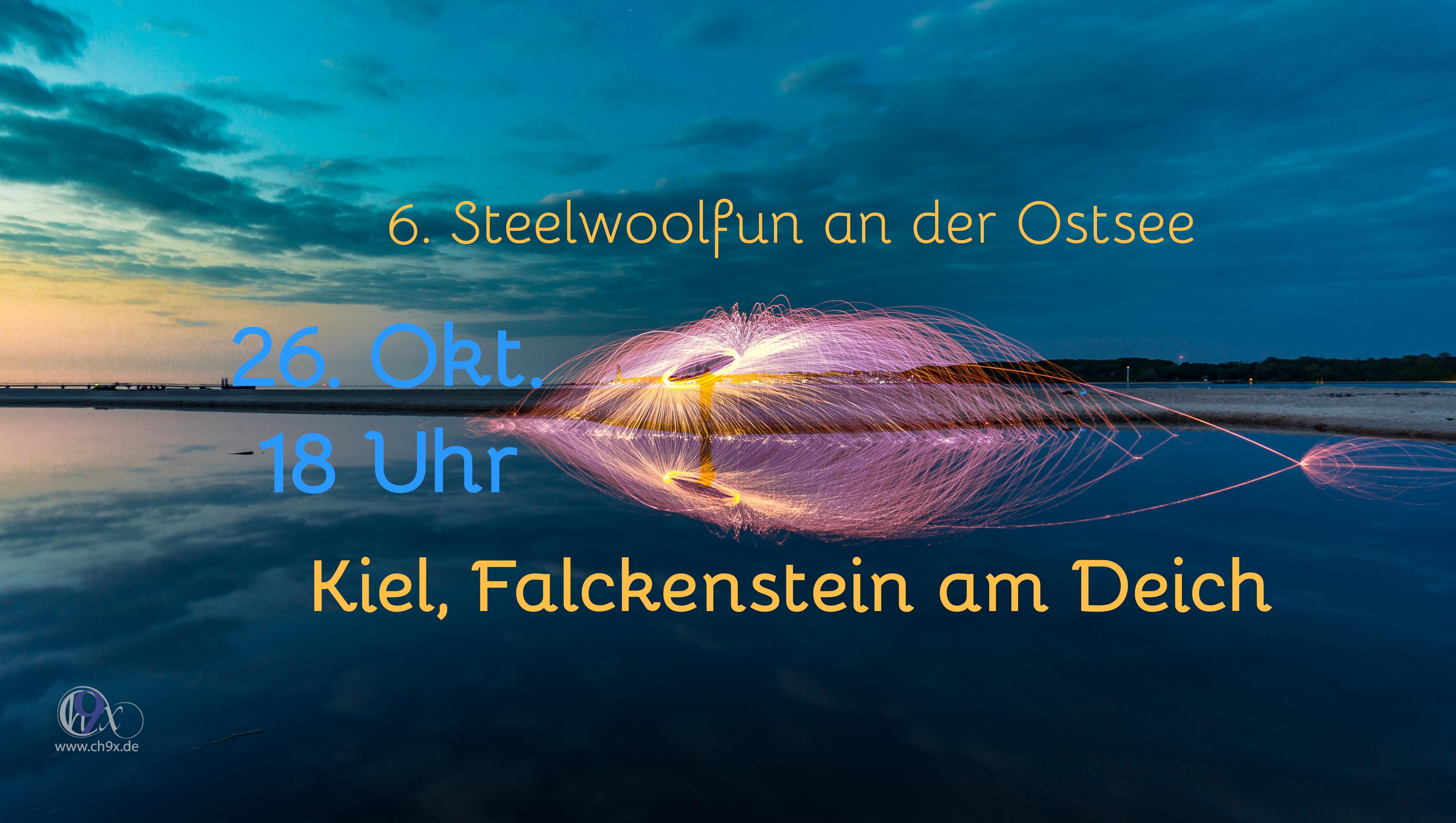 6. Steelwoolfun an der Ostsee