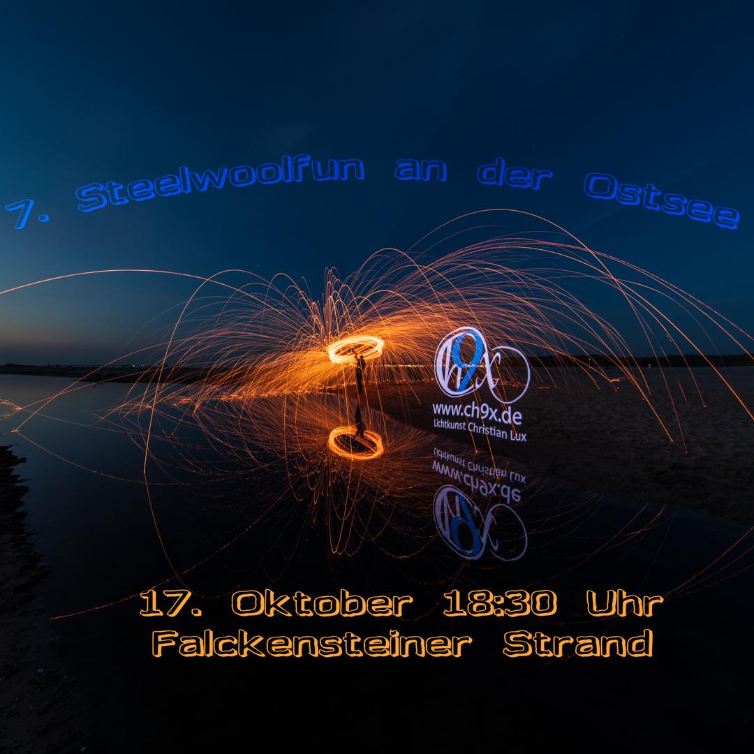 7. Steelwoolfun an der Ostsee