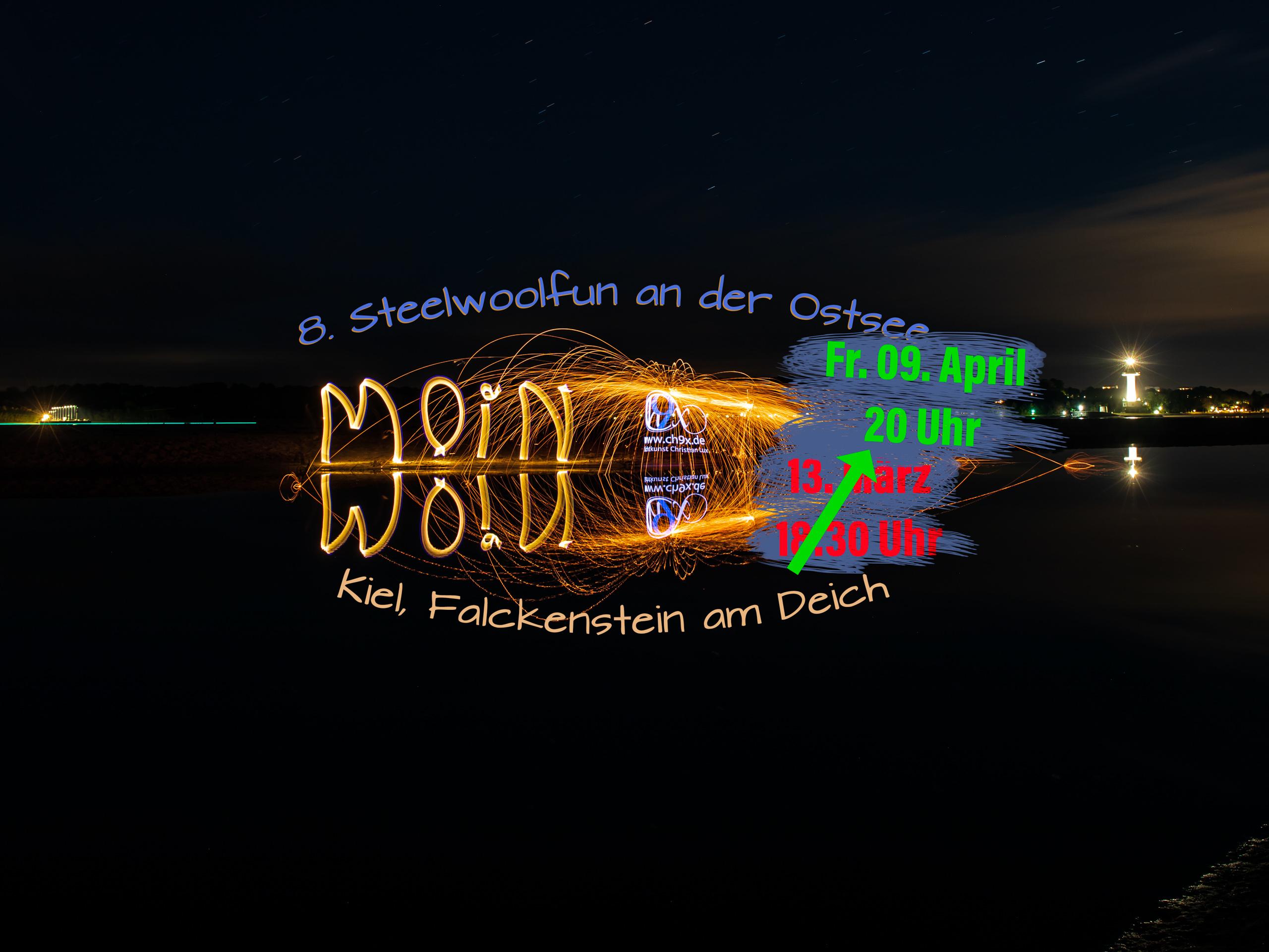 8. Steelwoolfun an der Ostsee – Verschoben